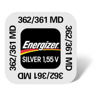 362-361 Energizer Watch Battery SR58 SR721 W+SW