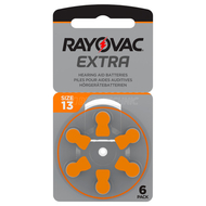 Hearing  aid battery Rayovac Nr.13 Extra Advanced