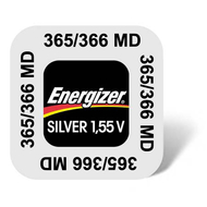 365-366 Energizer Watch Battery SR1116 W+SW