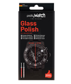 PolyWatch Glass Polish removes scratches in glass