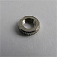 Hand nut open Nickel plated