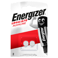 LR44 LR1154 A76 Energizer Button Battery Alkaline 2pce